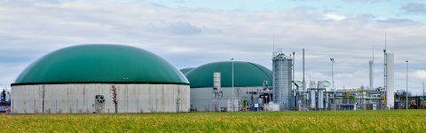 Wind für Biogas